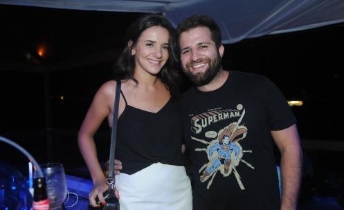 Joana Bonelli e Andre Barros
