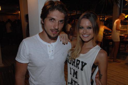 Lucas Marques e Bianca Viegas
