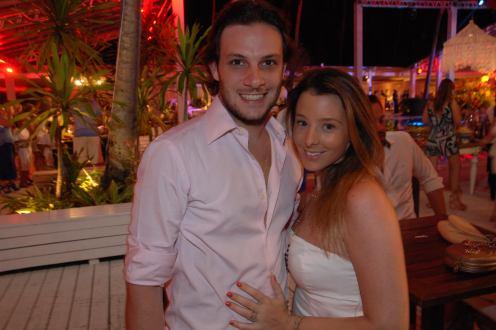 Luis Palomares e Gabriela Macedo