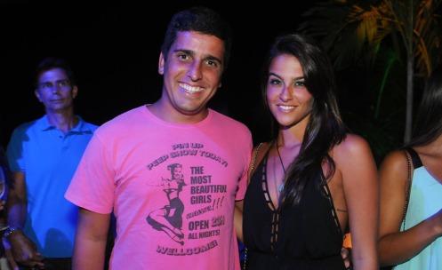 Luiz Amaral e Juliana Canderani