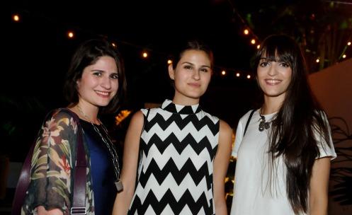Natalia Benenti, Alexandra Benenti e Clara Tarra