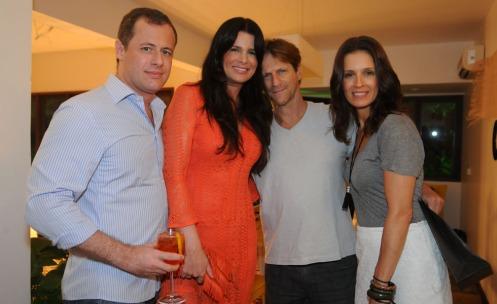 Paulo Cunha, Angelita feijo, Ricardo Nauenberg e Anna Caldas