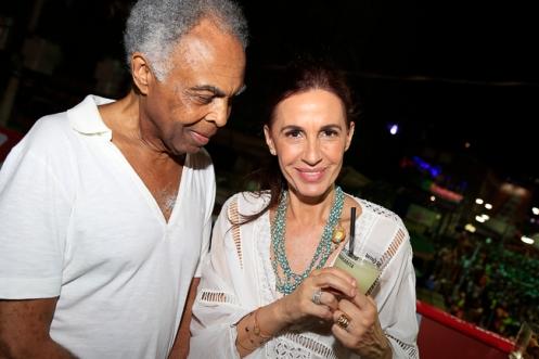 Gilberto e Flora Gil