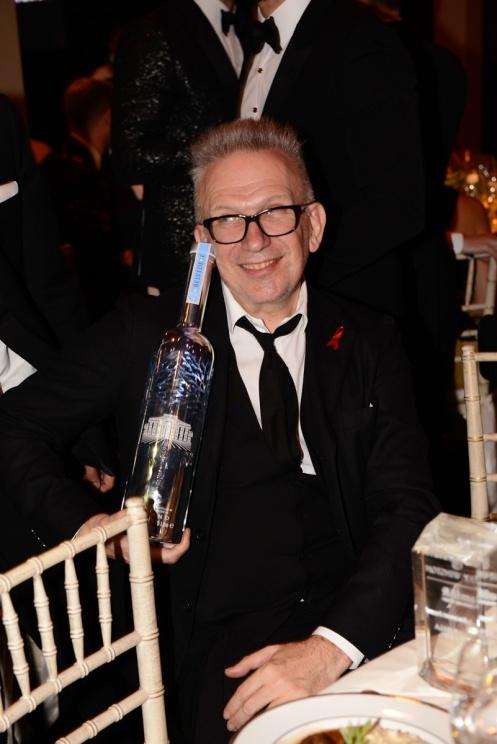 Jean-Paul Gaultier com garrafa Belvedere_277