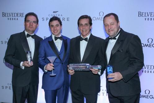 Gontijo Pinto, Raphael Vidigal, Sergio Degese e Cesar Adames