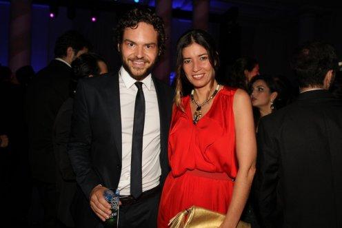 Sacha Gielbaum e Cris Nogueira